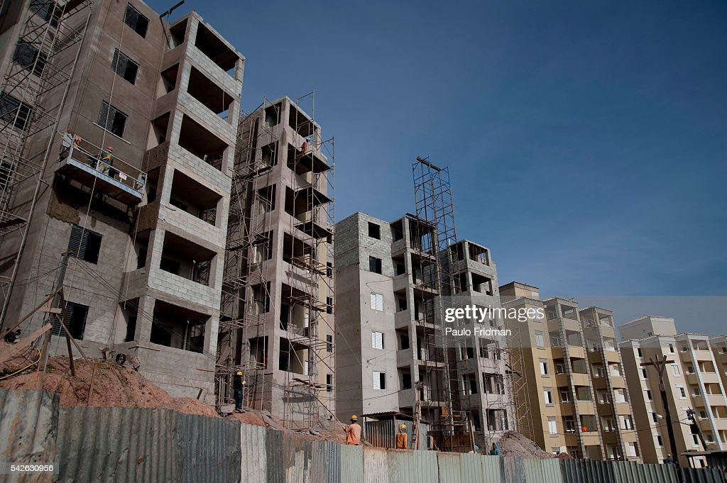 brazil construction apartments pictures getty images