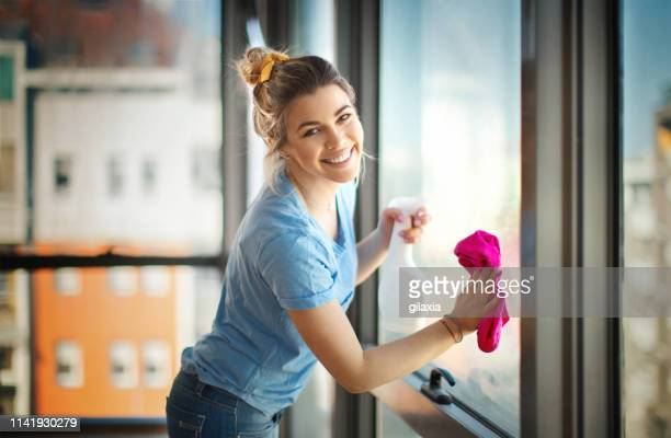 apartment cleaning. - clean stock pictures, royalty-free photos & images