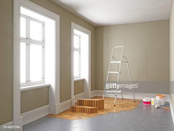 apartment during renovation. home improvement concepts - reform stock pictures, royalty-free photos & images