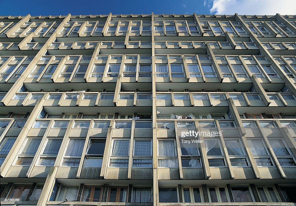 Apartment facade : Stock Photo