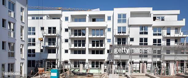 Wohnung Häuser im Bau