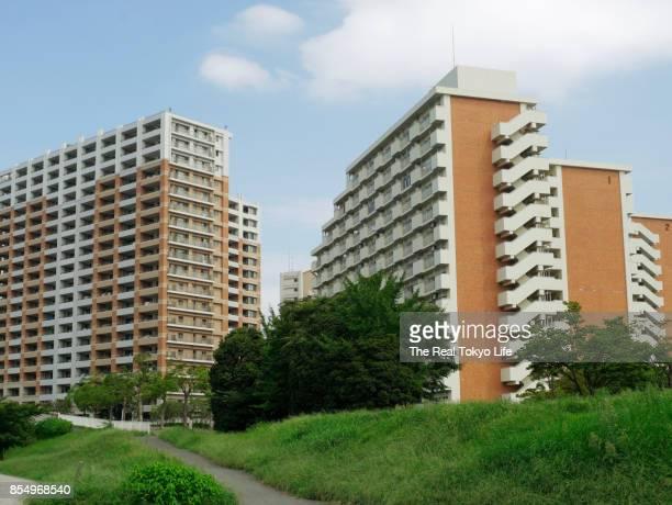 apartment in edogawa - マンション ストックフォトと画像