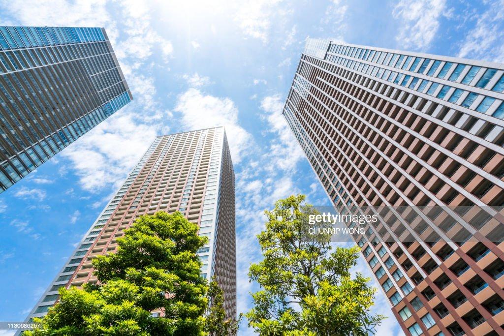 Apartment (condominium) in Japan : Stock Photo