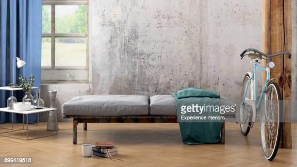 Wohnung leer Innenwand Vorlage