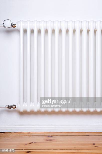 Apartment radiator, close up