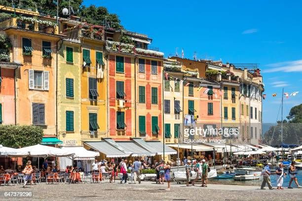 Apartments And Cafe S Around The Harbor At Portofino Italy