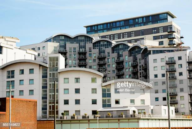 apartments in basingstoke - basingstoke stock pictures, royalty-free photos & images