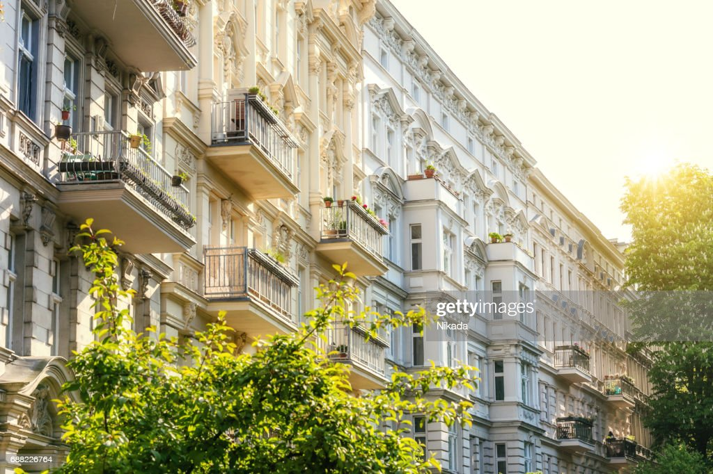 Apartments in Berlin Kreuzberg : Stock Photo