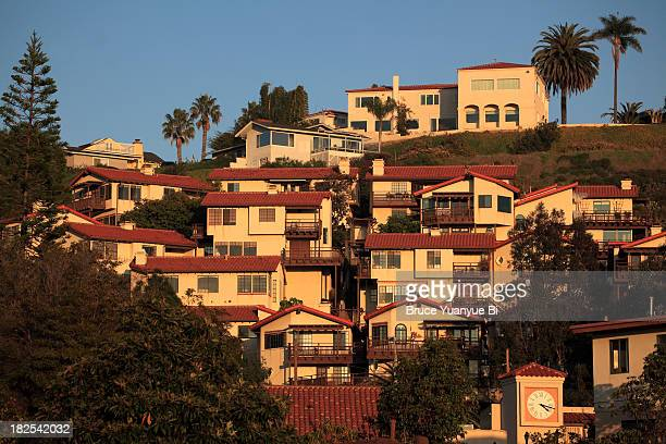 apartments in old town of san diego - old town san diego stock pictures, royalty-free photos & images