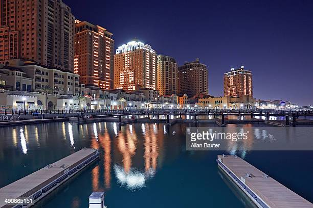 Apartments in Pearl marina in Doha