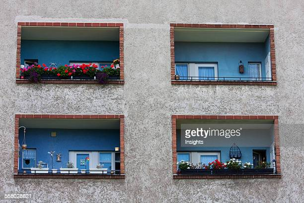 Apartments In The Horseshoe Settlement Of The Britz Development Built In 1925 Berlin Germany
