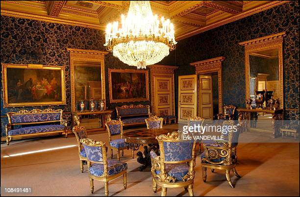Apartments of Queen Marie-Jose , the last queen of Italy in Turin, Italy in September, 2002.