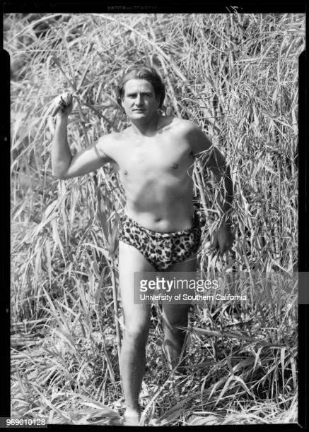 Ape woman and Tarzan Southern California 1932