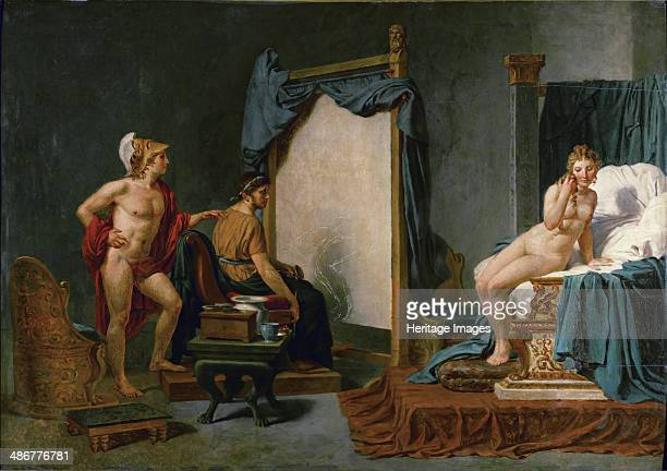 Apelles Painting Campaspe in the Presence of Alexander the Great Artist David Jacques Louis