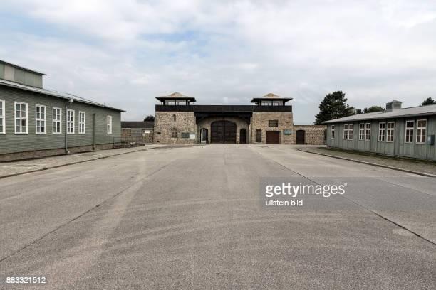 Apellplatz im Konzentrationslager Mauthausen in Österreich KZ der Stufe III von 1938 bis 1945