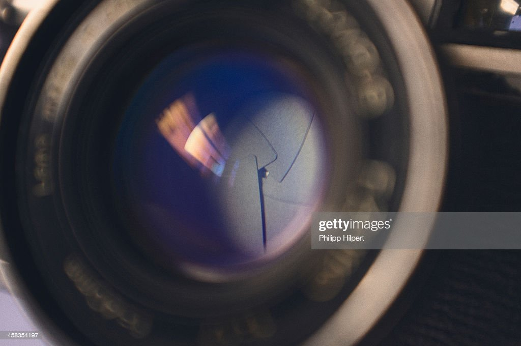 Aperature of a lens : Stock Photo