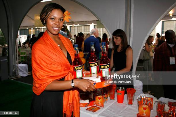 Aperol Model attends Second Annual NEW TASTE of the UPPER WEST SIDE Fundraising Gala at Columbus Avenue Tent on May 30 2009 in New York City