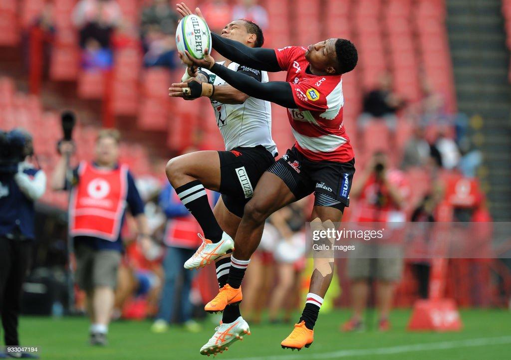 Super Rugby Rd 5 - Lions v Sunwolves