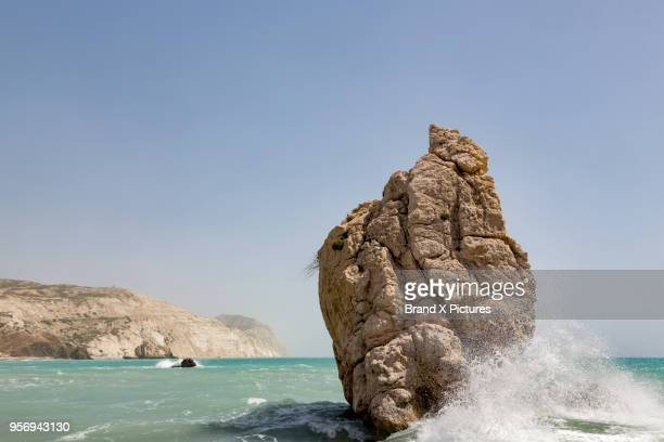 Aphrodite's Rock on the island of Cyprus