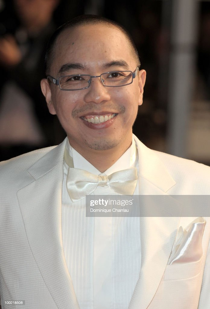 Apichatpong Weerasethakul attends the 'Uncle Boonmee Who Can Recall His Past Lives' Premiere at the Palais des Festivals during the 63rd Annual International Cannes Film Festival on May 21, 2010 in Cannes, France.