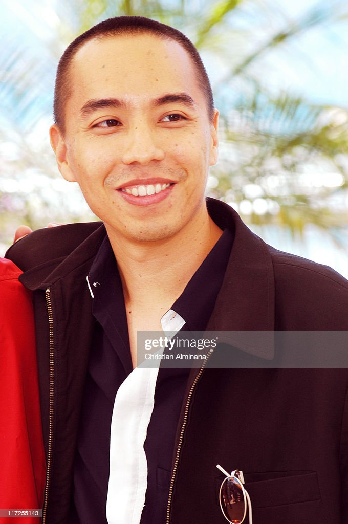 Apichatpong Weerasethakul during 2004 Cannes Film Festival - Tropical Malady - Photocall at Palais Du Festival in Cannes, France.
