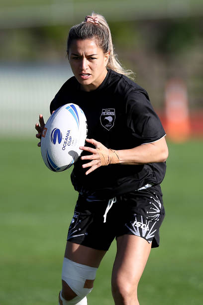 NZL: New Zealand Kiwi Ferns Training Session