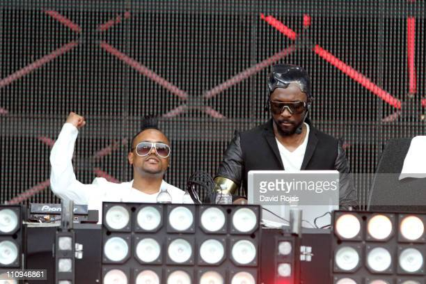 apldeap and william perform at Ultra Music Festival at Bicentennial Park on March 27 2011 in Miami Florida