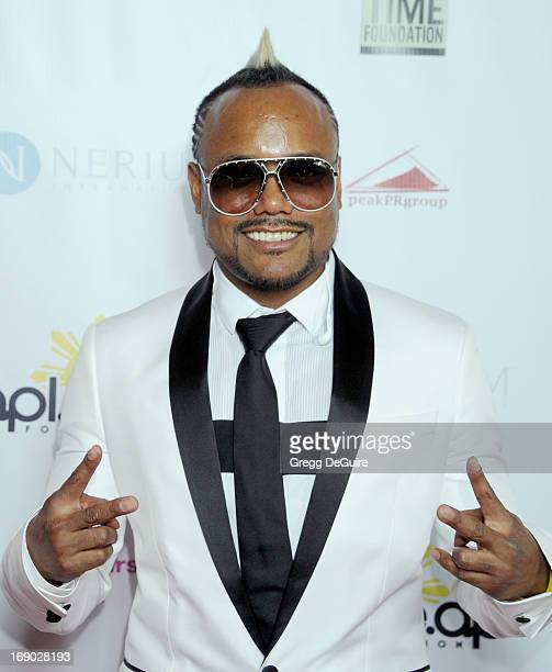 ApldeAp arrives at the Time For Hope fundraiser gala benefiting This Time Foundation and The Apldeap Foundation International at Regent Beverly...