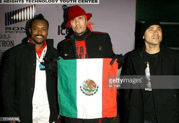 apldeap of Black Eyed Peas Taboo of Black Eyed Peas and Frankie J