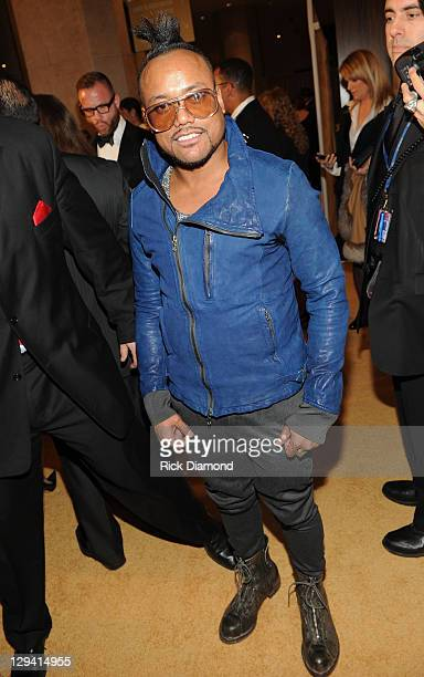 apldeap of The Black Eyed Peas arrives at the 2011 PreGRAMMY Gala and Salute To Industry Icons Honoring David Geffen at The Beverly Hilton Hotel on...