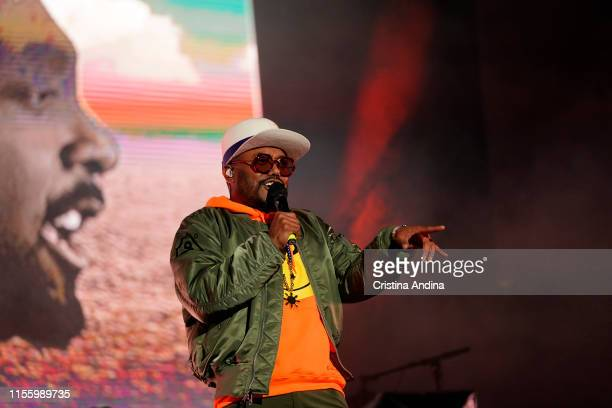 Apl.de.ap of The Black Eyed Peas performs during the second day of Son do Camino Festival on June 14, 2019 in Santiago de Compostela, Spain.