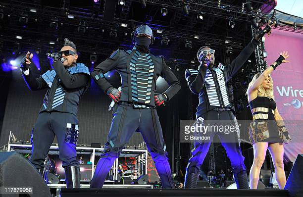 apldeap Taboo william and Fergie of Black Eyed Peas perform on the Main Stage at the Wireless Festival on July 1 2011 in London United Kingdom