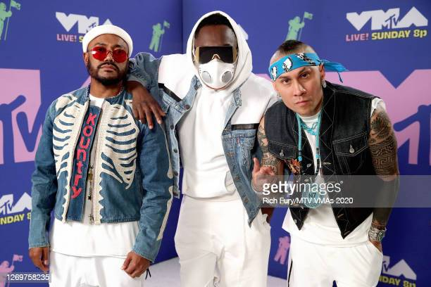 apldeap william and Taboo attend the 2020 MTV Video Music Awards broadcast on Sunday August 30 2020 in New York City