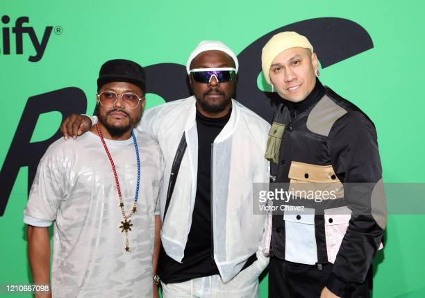 apldeap william and Taboo attend the 2020 Spotify Awards at the Auditorio Nacional on March 05 2020 in Mexico City Mexico