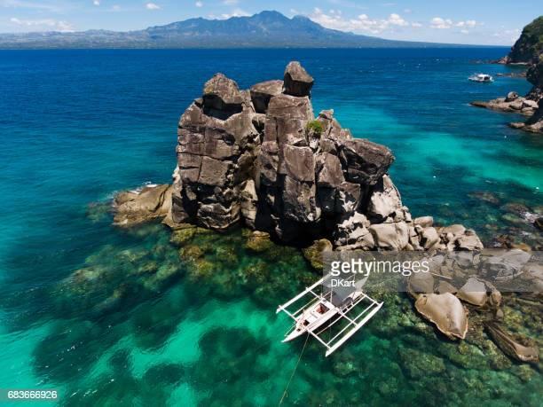 Luchtfoto van APO eiland