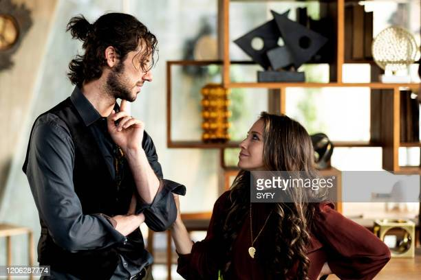 THE MAGICIANS Apocalypse Now Episode 505 Pictured Hale Appleman as Eliot Waugh Stella Maeve as Julia Wicker
