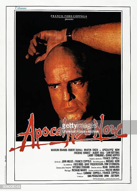 'Apocalypse Now' starring Marlon Brandon a cult western film