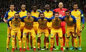 apoel nicosia team shootduring champions league