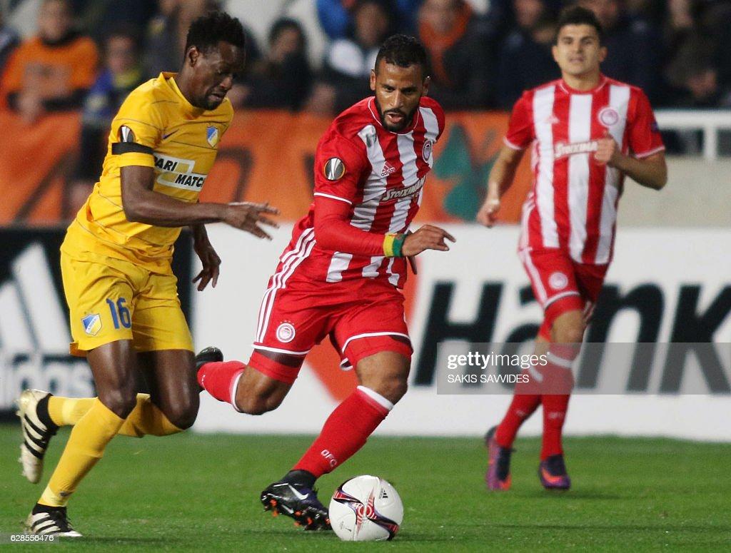 APOEL FC v Olympiacos FC - UEFA Europa League