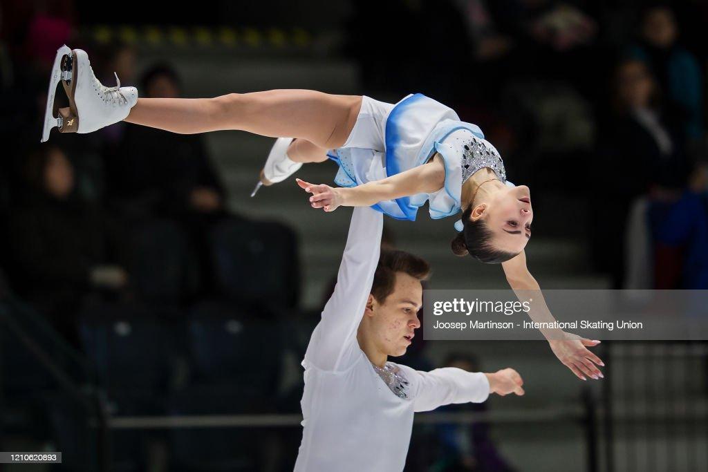 ISU World Junior Figure Skating Championships - Tallinn : ニュース写真