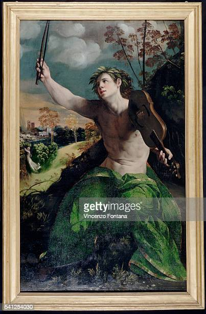 Apollo and Daphne by Dosso Dossi