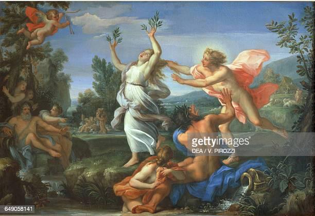 Apollo and Daphne by Giuseppe Bartolomeo Chiari painting Rome Galleria Spada