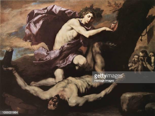 Apollo and Marsyas 1637 Found in the Collection of Museo di Capodimonte Naples Artist Ribera José de