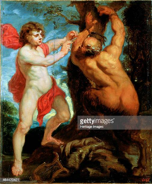 'Apollo and Marsyas' 17th century Rubens Pieter Paul Found in the collection of the Far Eastern Art Museum Khabarovsk