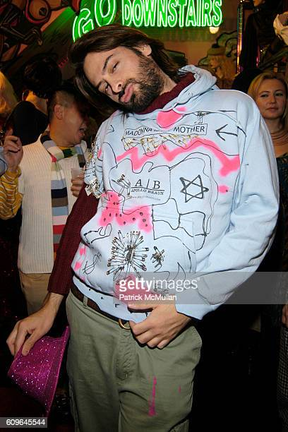 Apollo Braun attends Amanda Lepore 2008 Calendar Release and Signing Reception at Patricia Field Store on December 21 2007 in New York City