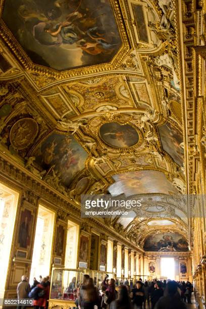 apollo gallery - louvre stock pictures, royalty-free photos & images