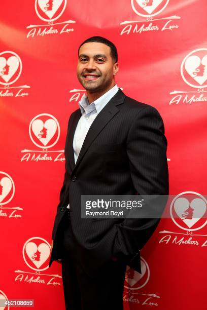 """Apollo Nida from Bravo's """"Real Housewives Of Atlanta"""", poses for red carpet photos for """"A Mother's Love"""" stage play at the Rialto Center For The Arts..."""