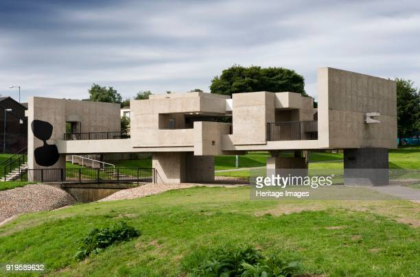Apollo Pavilion Peterlee County Durham 2009 General view of the building designed by Victor Passmore and built in 1969