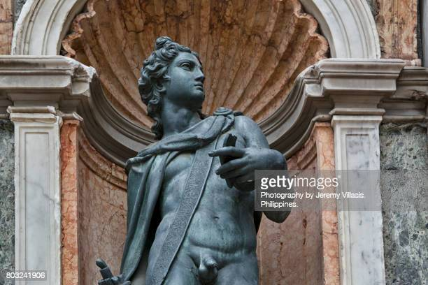 Apollo Statue, Campanile of St. Mark's, Venice, Italy