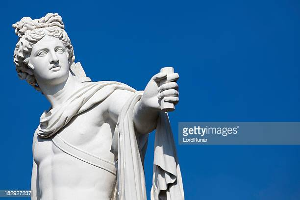 apollo statue - sculpture stock pictures, royalty-free photos & images